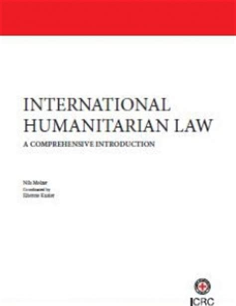 Research paper for international humanitarian law